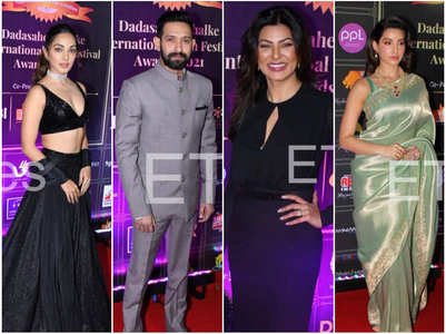 Sushmita & other BWood celebs at DPIFF Awards