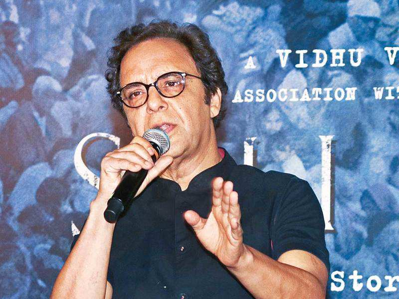 Filmmaker Vidhu Vinod Chopra discussed cinema and his journey at a virtual session of a literature festival