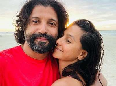 Farhan and Shibani's loved-up pictures