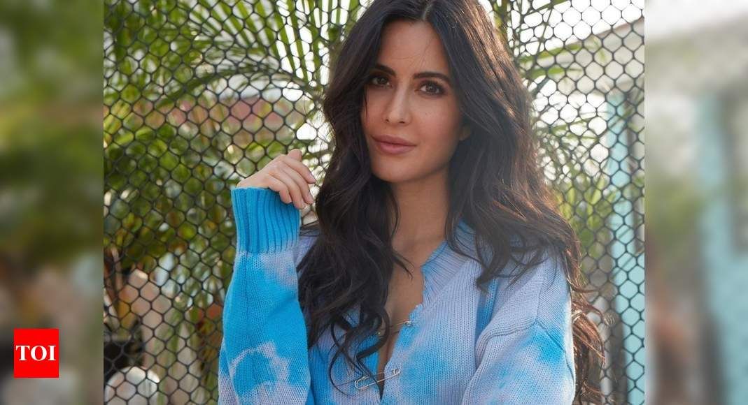 Watch: Katrina Kaif recreates Jack Black's viral video; says 'hope we get to dance a duet together - Times of India