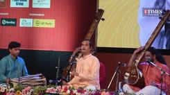 Pandit Uday Bhawalkar captivate the audience with their performance at Vasantotsav 2021