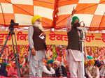 Farmers hold Maha Kisan rally against farm laws in Barnala