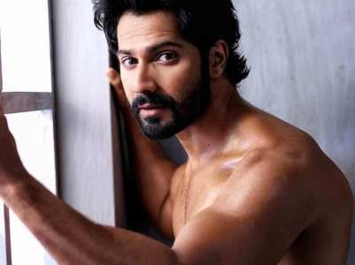 Varun Dhawan posts a shirtless pic
