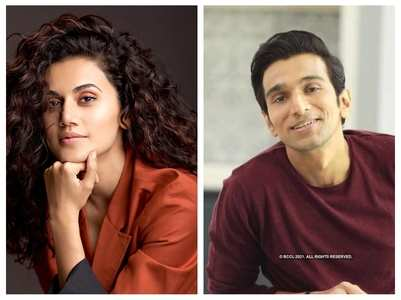 Pratik Gandhi roped in for Taapsee's next?