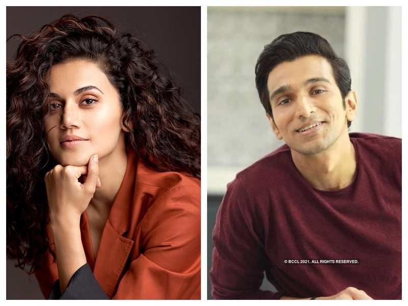 Taapsee Pannu to star opposite Pratik Gandhi of 'Scam 1992' fame in 'Woh Ladki Hai Kahaan?'