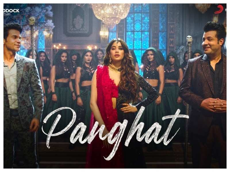 'Roohi' first song 'Panghat': Janhvi Kapoor casts a spell on Rajkummar Rao and Varun Sharma in this peppy dance number