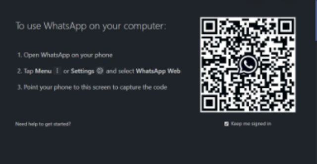 Can I login to WhatsApp Web without my phone?
