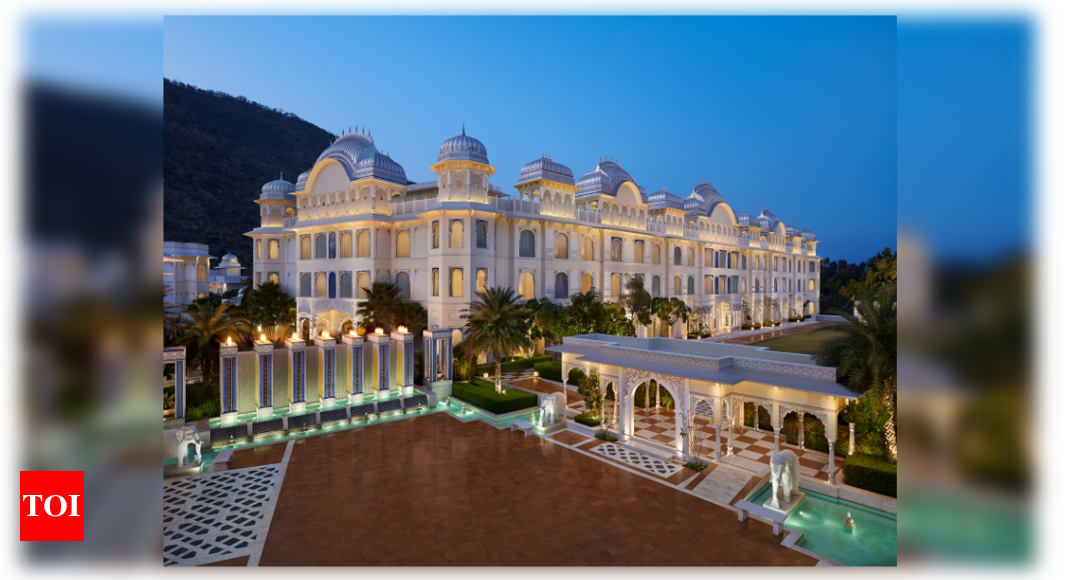 The Leela Palaces, Hotels and Resorts makes a debut in Rajasthan's capital city with the unveiling of The - Times of India