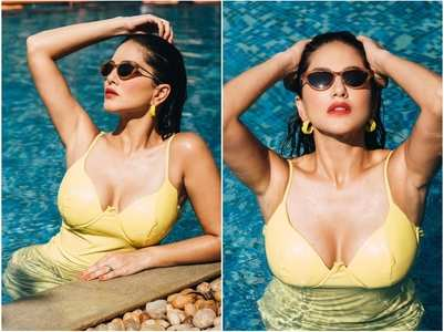 Sunny Leone's latest pool photos