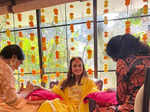 Unseen pictures from Dia Mirza's wedding and mehendi ceremony
