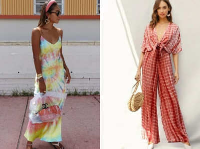 How to style tie-dye outfits