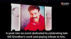 Bengaluru remembers its fashion choreographer MS Sreedhar