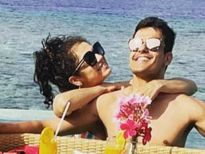 Drashti vacays with hubby on their anniv
