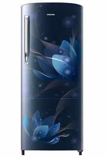 Samsung Single Door 192 Litres 2 Star Refrigerator SAFFRON BLUE RR20A271BU8