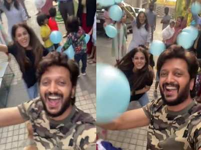 Riteish jumps on Pawri bandwagon to his wish pet