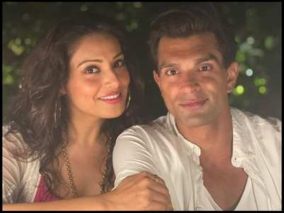 Bipasha's sweet b'day wish for hubby Karan
