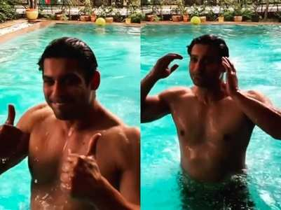Fans go berserk over Sidharth's pool video