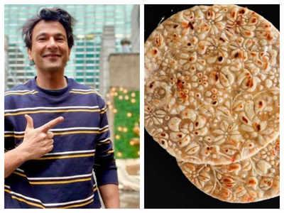 Chef Vikas Khanna's designer roti is a beautiful piece of art