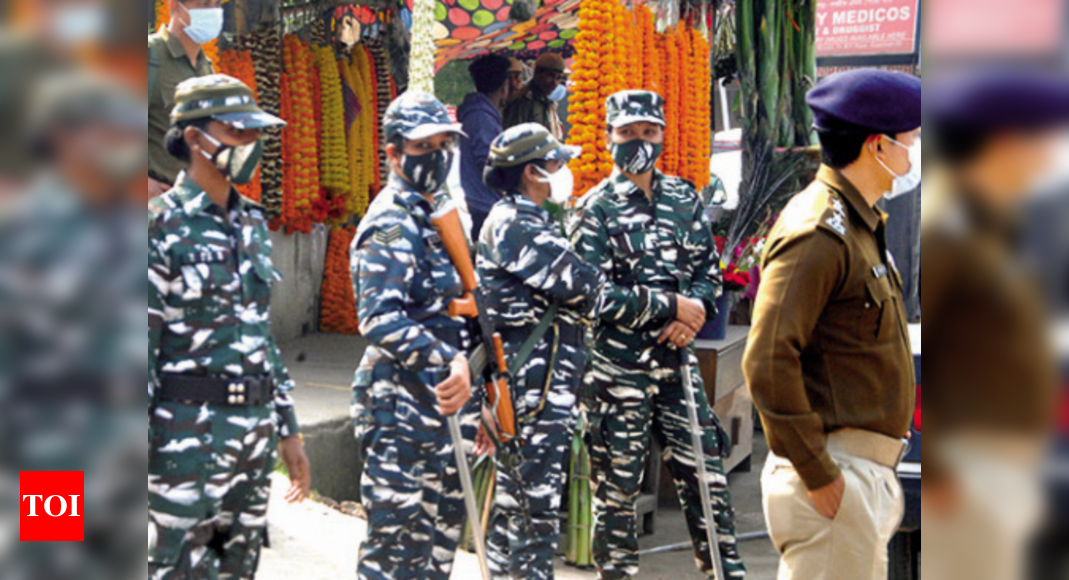 Twenty companies of central forces sent to Assam
