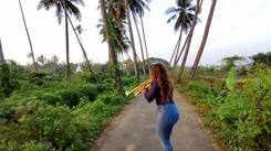 Singer Velrose Pereira sings a Konkani song on her trumpet at Parra