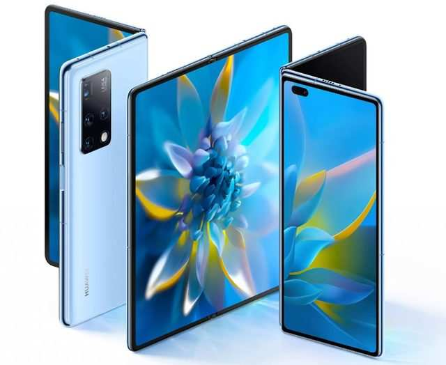 Huawei launches its new foldable smartphone Mate X2