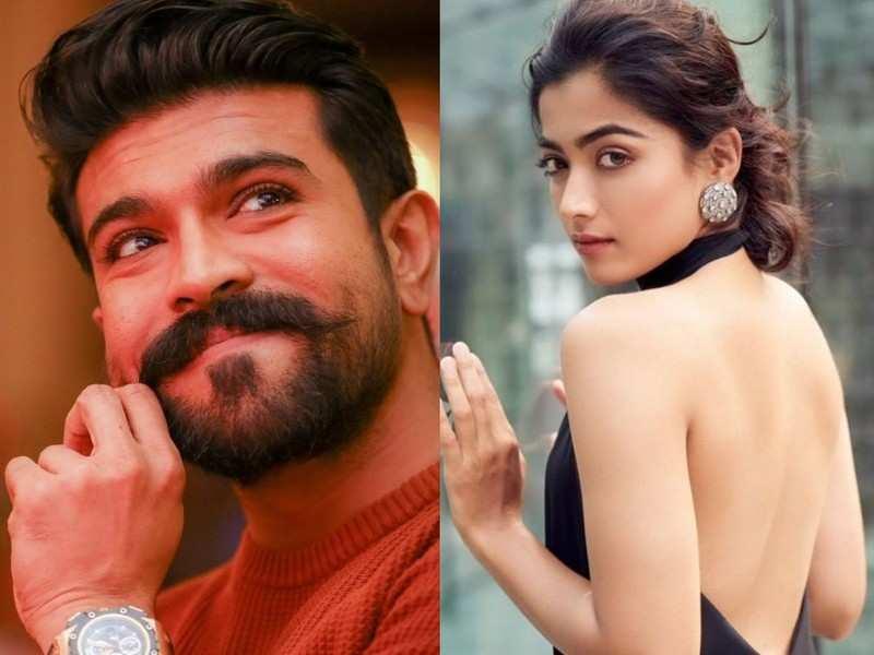 Rashmika Mandanna to play the female lead in Shankar's Pan Indian film with Ram Charan?