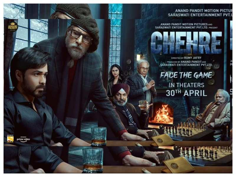 'Chehre': The Amitabh Bachchan and Emraan Hashmi starrer to hit the theatres on April 30, 2021