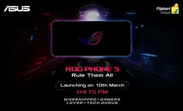 Asus ROG Phone 5 to launch in India on March 10