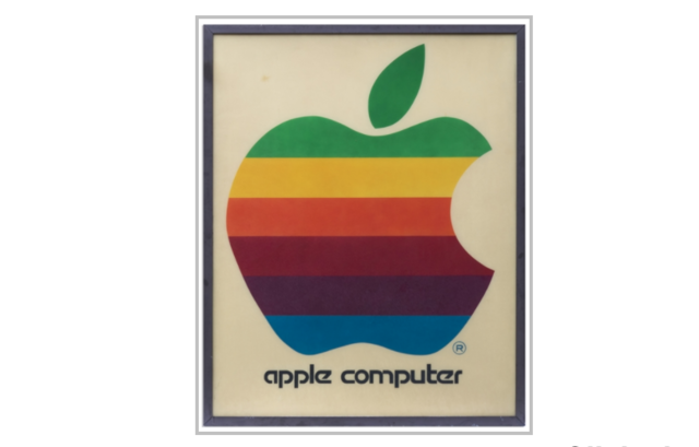 Apple retail sign from 1978 up for action at Rs 9 lakh