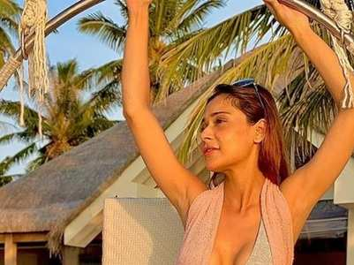 Sara Khan's beach style in Maldives