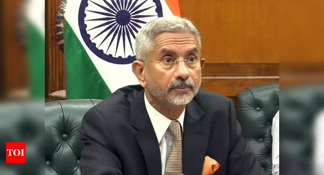 Terrorism continues to be one of the gravest threats to humankind: Jaishankar |  India News – Times of India