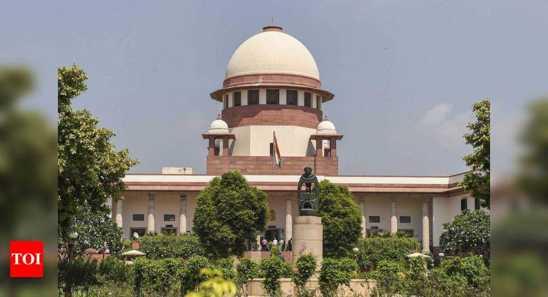Don't call us 'Your Honour', it's not US Supreme Court, SC tells law student | India News – Times of India