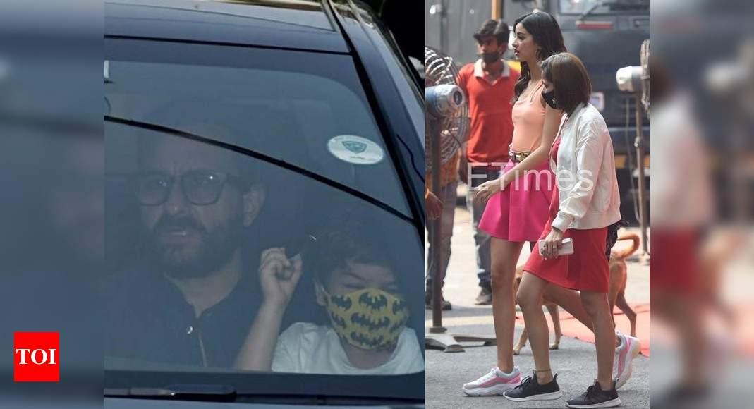 ETimes Paparazzi Diaries: Kareena Kapoor Khan-Saif Ali Khan take their baby boy home; Ananya Panday gets - Times of India