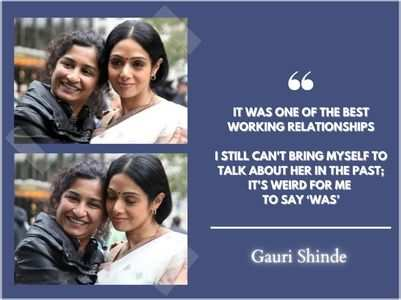 Gauri recalls her first meeting with Sridevi