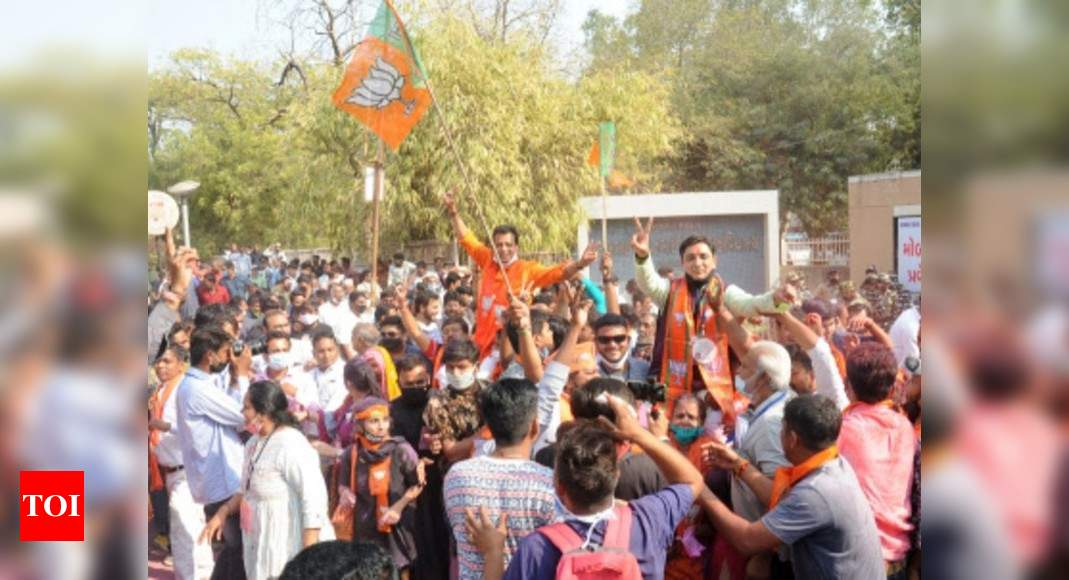 Top takeaways from Gujarat civic polls as BJP registers impressive win, AAP beats Congress in Surat | India News – Times of India