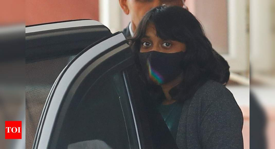 'Scanty & sketchy evidence': Disha gets bail, leaves Tihar    India News – Times of India