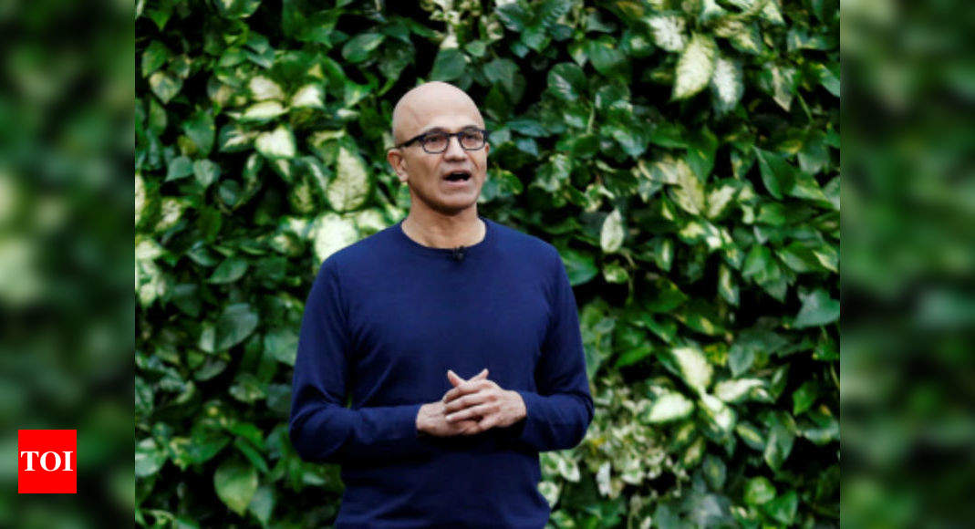 Develop products that are built for privacy: Satya Nadella - Times of India
