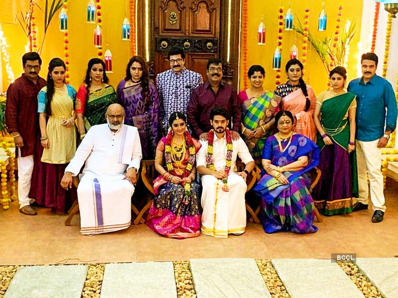 Thirumagal completes 100 episodes; Actor Surendar Shanmugam thanks fans for the support (Photo - Instagram)
