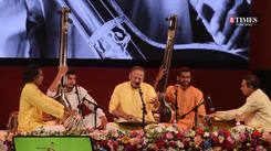Pandit Vijay Koparkar performed ati dhrut bandish ' Sakhi mori sarase sarak gayi dagari'
