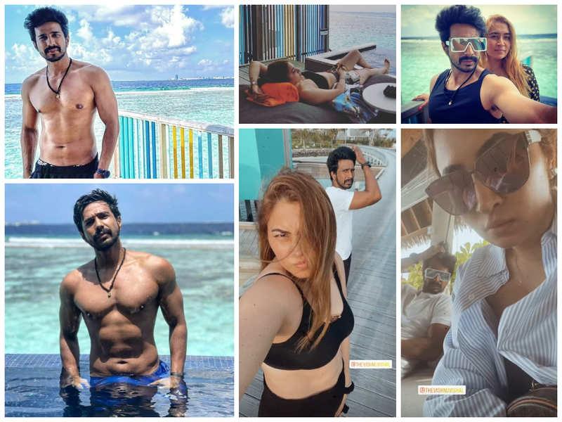 Vishnu Vishal and Jwala Gutta head to the Maldives for a much-needed vacay