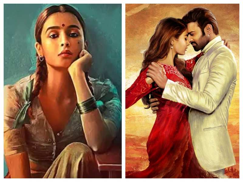It is Alia Bhatt vs Prabhas as 'Gangubai Kathiawadi' is all set to clash with 'Radhe Shyam' at the box-office this year