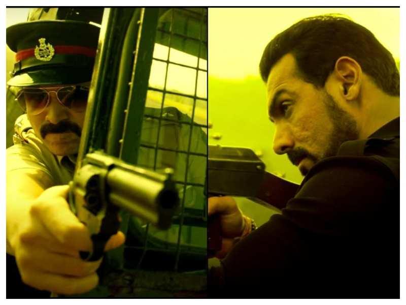 'Mumbai Saga' teaser: It is cop Emraan Hashmi vs gangster John Abraham in Sanjay Gupta's crime drama