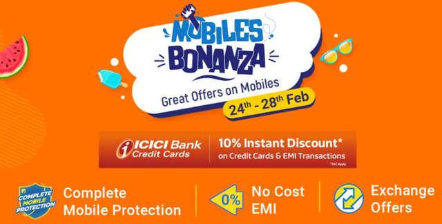 Flipkart Mobiles Bonanza: Discounts on smartphones from Apple, Xiaomi, Samsung and others