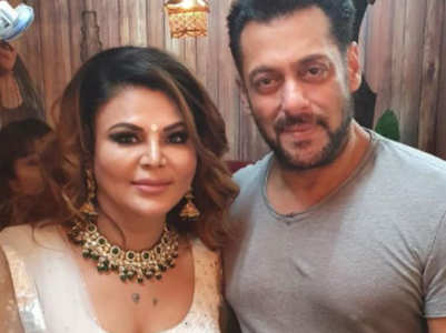 Rakhi Sawant prays for Salman's happiness