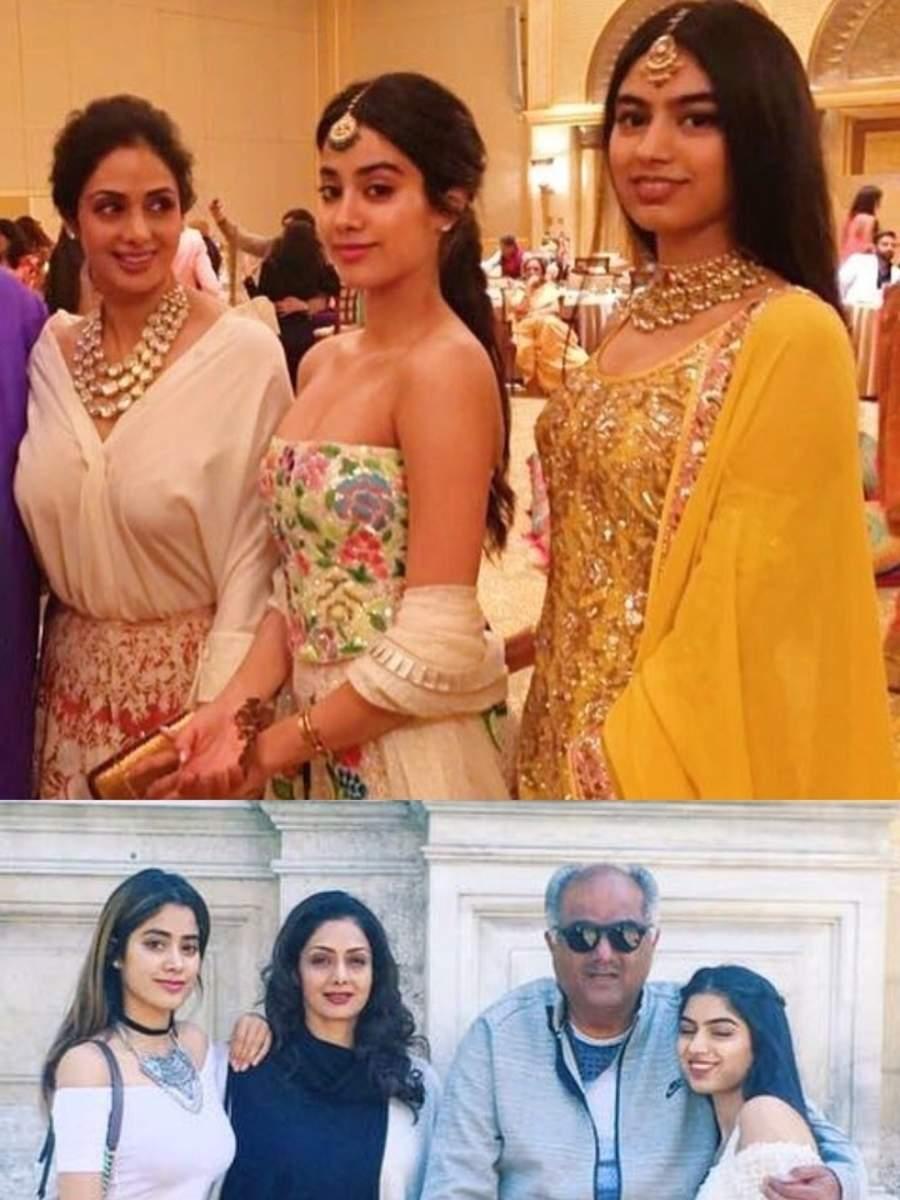 Sridevi's Priceless moments with Janhvi & Khushi Kapoor