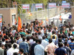 Civic polls: BJP celebrates victory in Ahmedabad