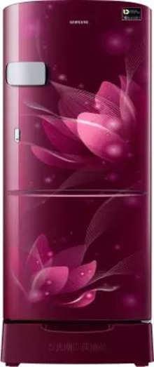 Samsung Single Door 192 Litres 3 Star Refrigerator Saffron Red RR20A1Z2YR8