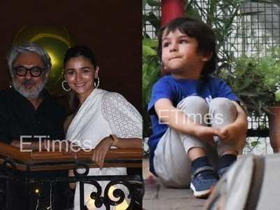 Tiger-Disha at dinner, Taimur enjoys a playdate