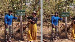 Priya Marathe enjoys jungle safari with husband Shantanu Moghe