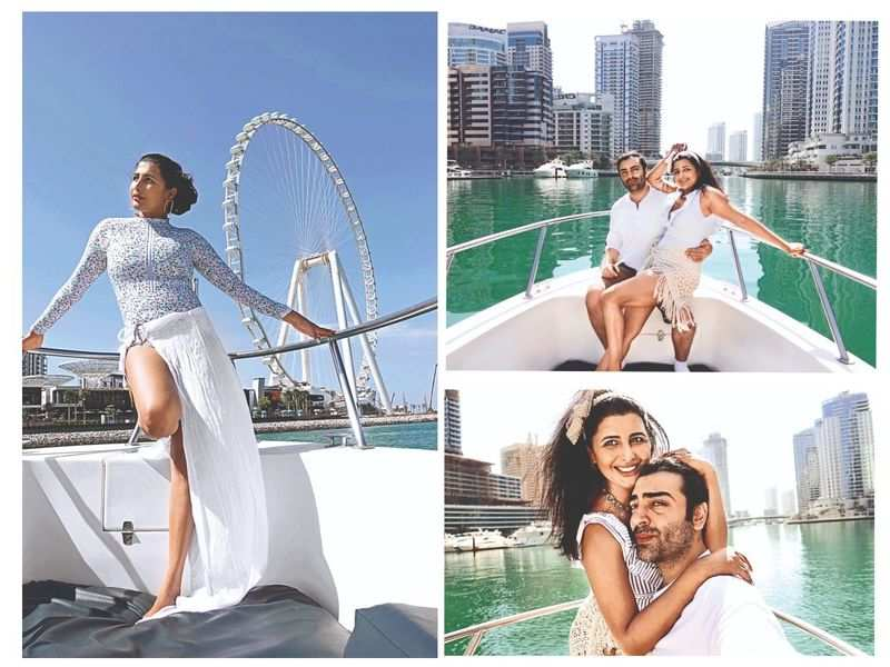 Rajshri Ponnappa and fiancé Adhir are on an exotic Emirati getaway